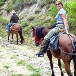Equestrian tour in Garni Gorge